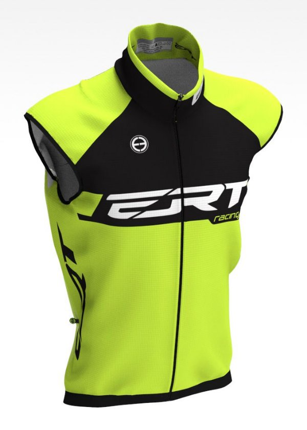 Colete Corta Vento Bike Ert Racing Verde Ciclismo MTB Speed