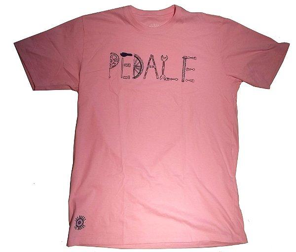 Camisa Ciclismo Casual Bike Rosa 100% algodão