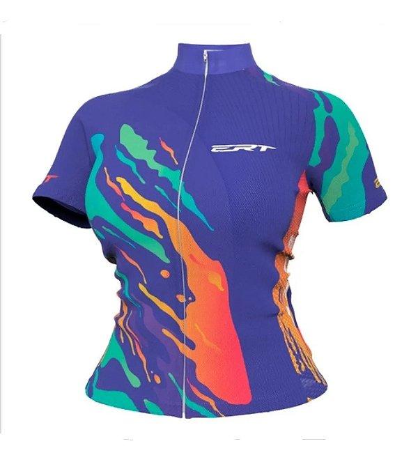 Camisa Ciclismo Ert Nova Tour Sunset Bike Mtb Speed