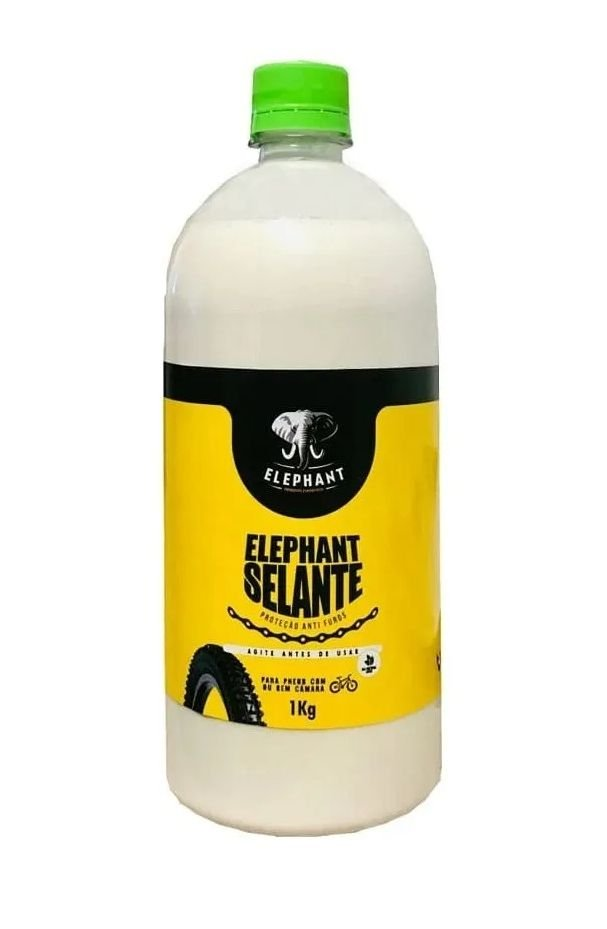Líquido Selante Tubeless Elephant 1 litro Pneu Bike Mtb