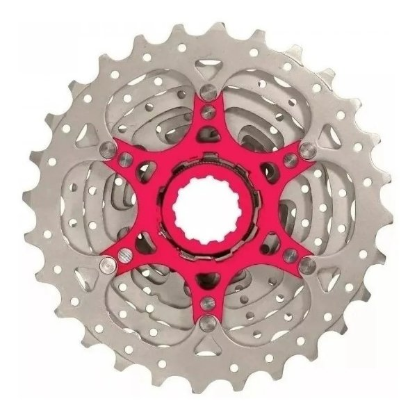 Cassete Sunrace Speed Rx1 10v 11x28 Dentes Bike Road Prata