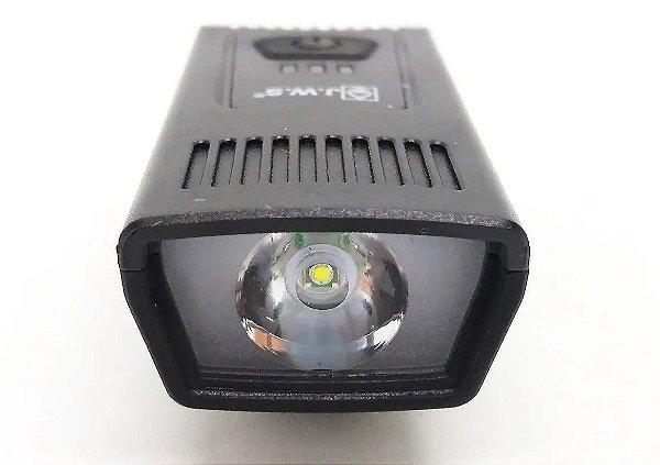 Lanterna Farol Bike Recarregável Usb Led Jws WS 8205