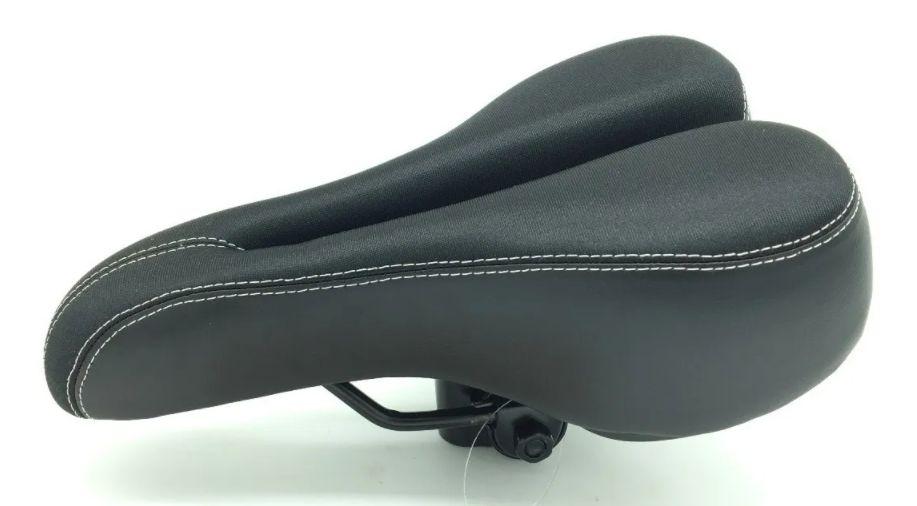 Selim Bike Vazado Gts Gel Em Neoprene Super Confortável Mtb
