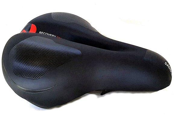 Selim Vazado Mega Soft First Banco 180mm Bike Speed Mtb Cor