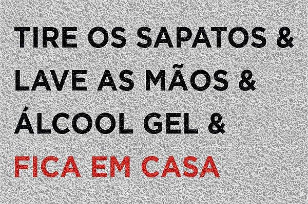 Capacho FICA EM CASA