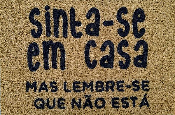Capacho SINTA-SE EM CASA