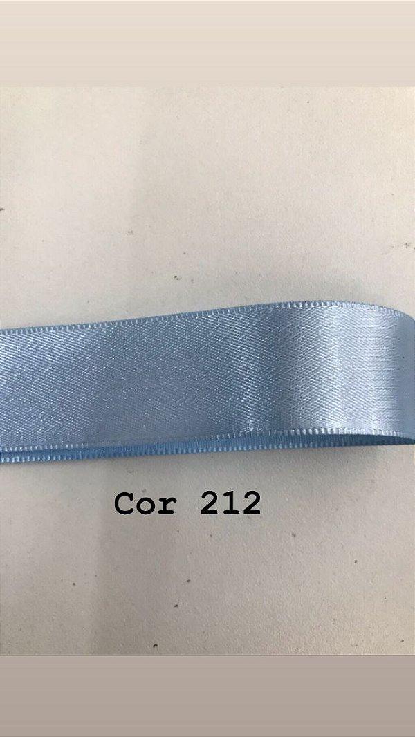 Fita de cetim Numero 7 progresso CF007 COR 212 AZUL BEBE