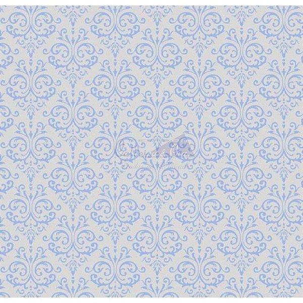 TRICOLINE ARABESCO (AZUL) COR 04 100%ALGODÃO TT180651