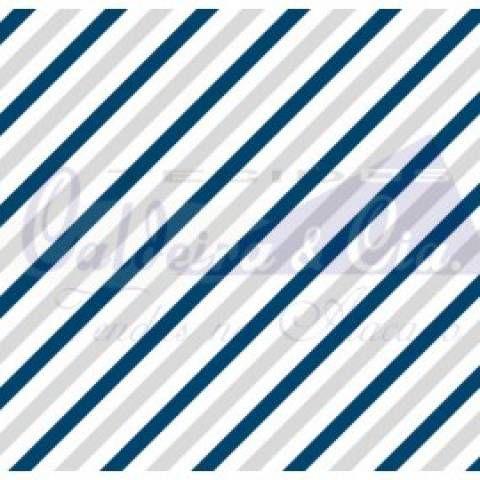 TRICOLINE DIAGONAL COR 02 100% ALGODÃO TT180656 (MARINHO E CINZA)