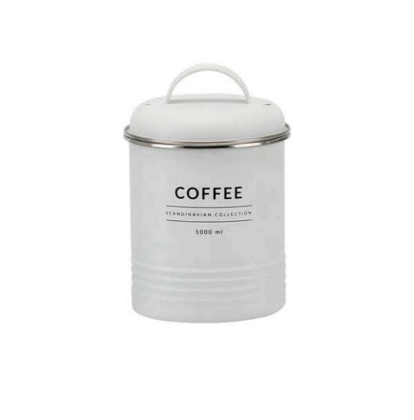 LATA PORTA CONDIMENTO COFFEE INDUSTRIAL BRANCO