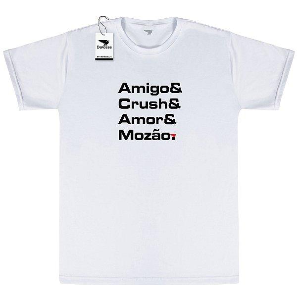 Camiseta Masculina Darosaa, Amigo e Crush