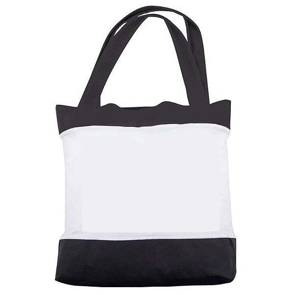 Bolsa Sarja Preta e Branca Personalizada - Darosaa