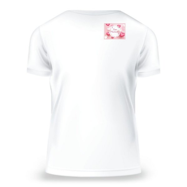 Camiseta Baby Look Madrinha, Branca, Feminina