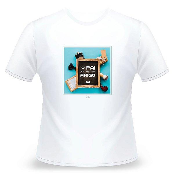 Camiseta Pai, Branca