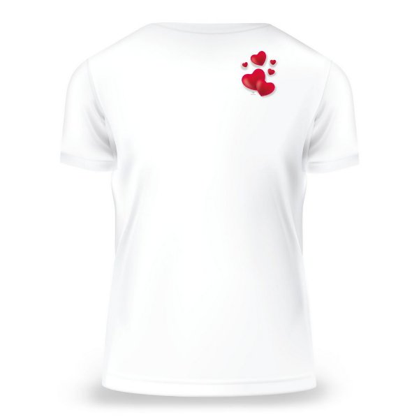 Camiseta Baby Look Da Mãe, Branca, Feminina