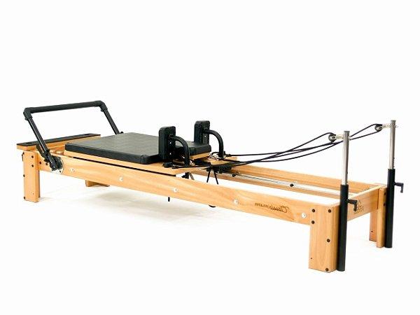 Aparelho de Pilates Reformer Classic com Estofamento
