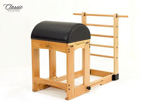 Aparelho de Pilates Ladder Barrel Classic com Estofamento