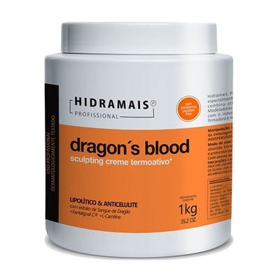 Creme Termoativo Dragon's Blood 1kg Hidramais