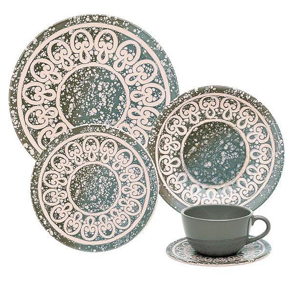 Aparelho de Jantar e  Chá Unni Elo - Oxford