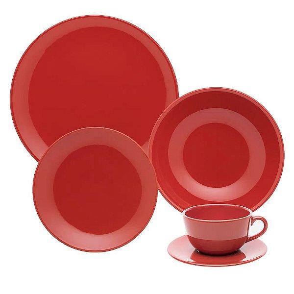 Aparelho de Jantar e  Chá Unni Red - Oxford
