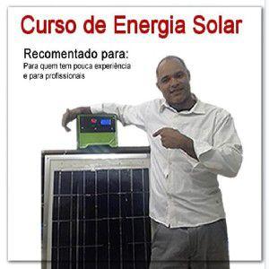 Novidade no  mercado que esta em alta, uma nova oportunidade de trabalho, é o mercado da energia solar, pra isso precisa se capacitar, aprenda como montar e instalar um gerador, clique na imagem e na descrição para saber mais.