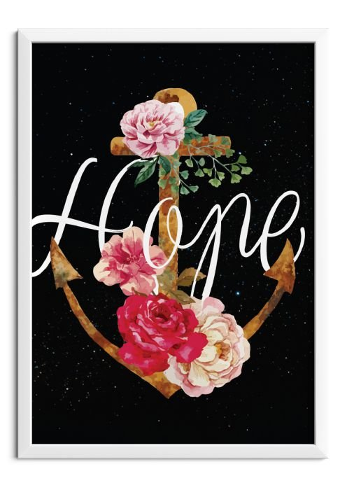 Quadro Hope floral