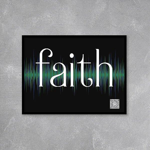 Quadro playlist Faith