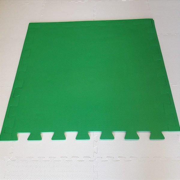 Tatame Verde Bandeira 1,04m X 1,06m X 10mm + 3 Bordas de Brinde