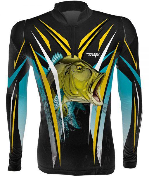 Camiseta Pesca MTK Tucuna Azul