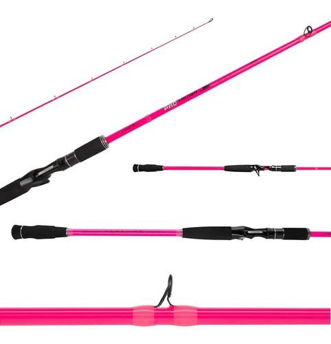 Vara Carretilha Pro Tamba New Edition Pink