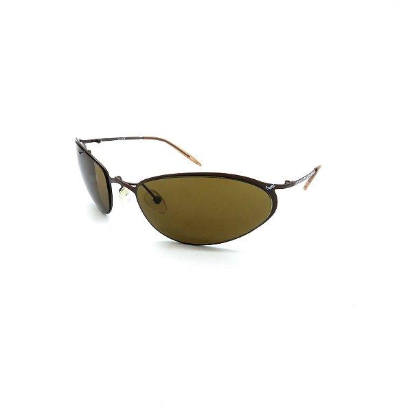 Óculos de Sol Prorider Marrom Brilhante com Lentes Marrom - YOGIC1