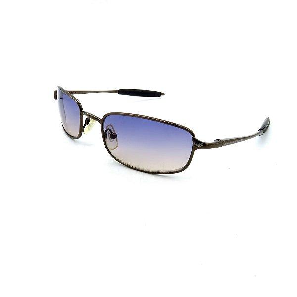 Óculos de Sol Prorider Retrô Cobre Brilhante com Lentes Degradê Azul - AC3894C1