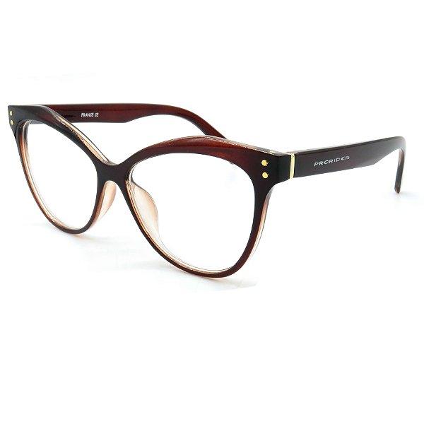 Óculos de grau pronto Prorider Concept Readers Marrom Gatinho - MGTPRCR