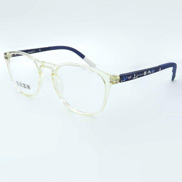 Óculos de grau pronto Prorider Concept Readers Translucido e Azul - TRAPRCRE