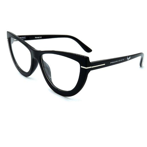 Óculos de grau pronto Prorider Concept Readers Preto Gatinho - PGPCR