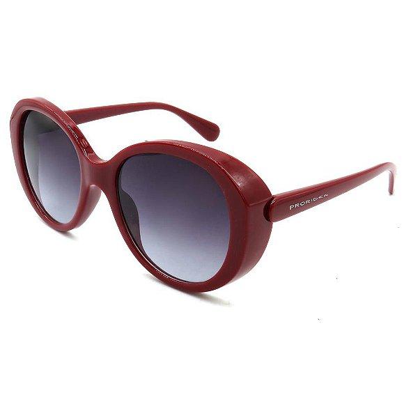 Óculos de Sol Prorider Vinho com lente degrade - AG31051