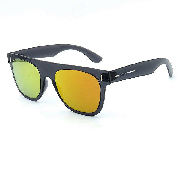 Óculos de Sol Prorider Cinza Trasnlucido com lente Espelhada - B881335