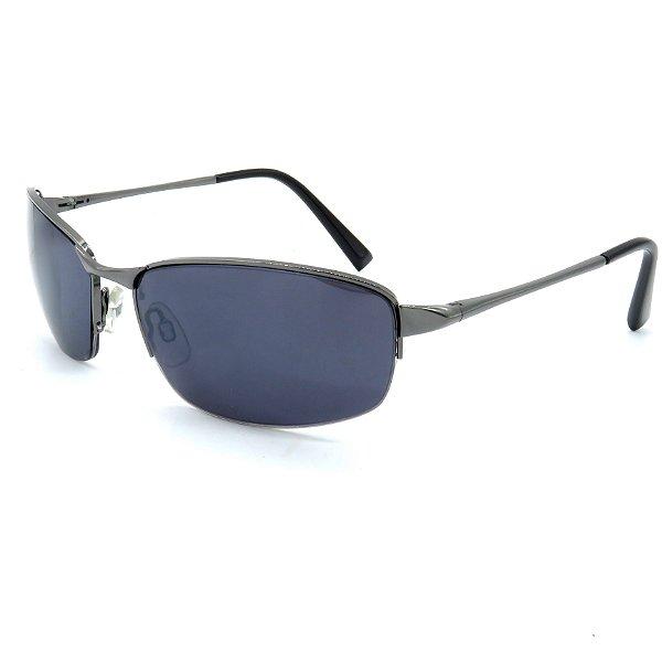 Óculos Solar Prorider Prata Com lente Fumê - STR796