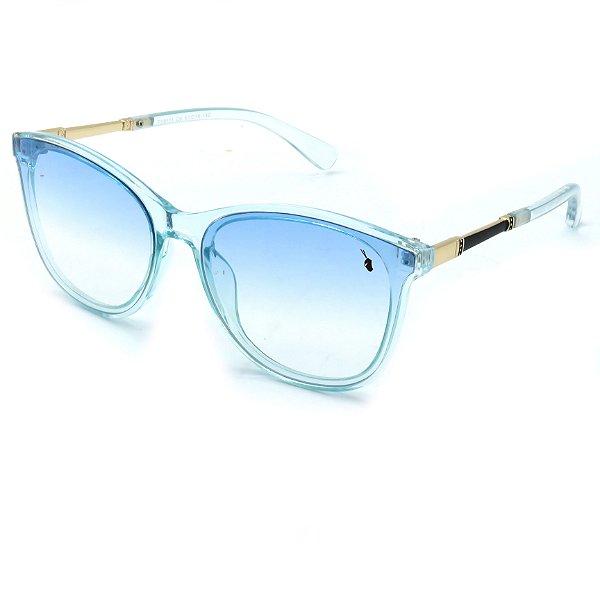 Óculos Solar Prorider Azul Translucido com Lente Degrade Azul - FY8111