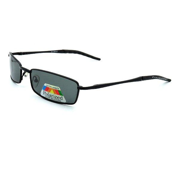 Óculos Solar Prorider Preto com lente fumê preto-we321