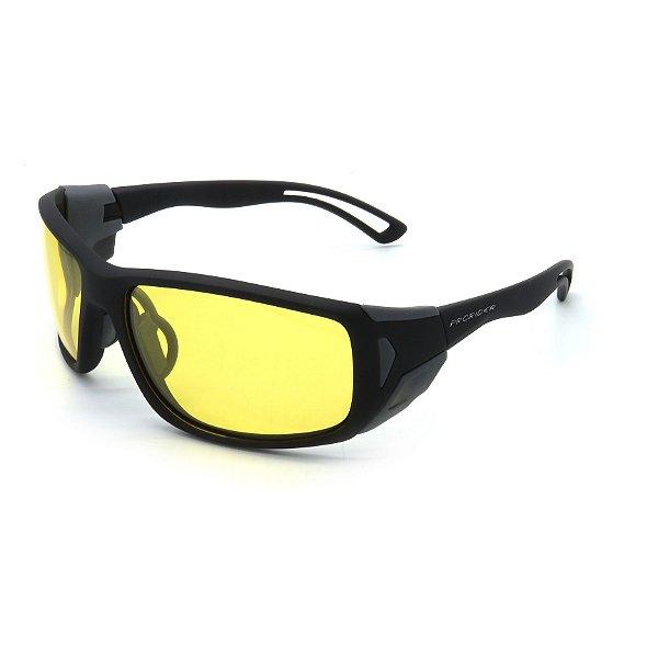 Óculos de Sol Prorider Esportivo Preto com Lentes Amarelas - BIOTOM21