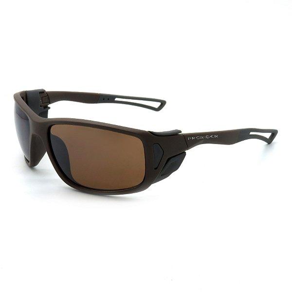 Óculos de Sol Prorider Esportivo Marrom com Lentes Marrom - BIOTOM29