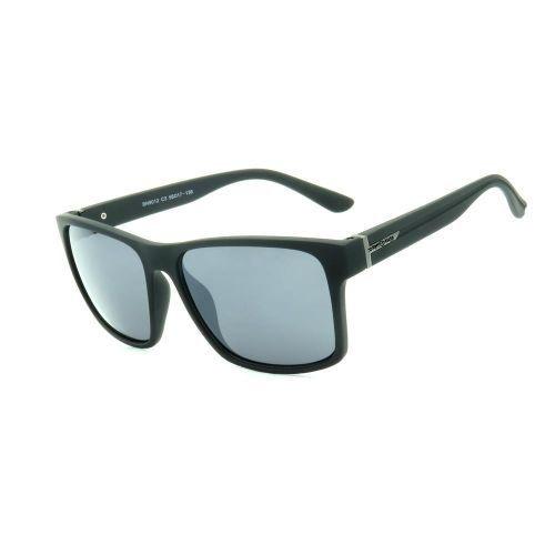 Óculos de Sol Dark Face Preto Fosco com Lente Fumê  - BN9012C3