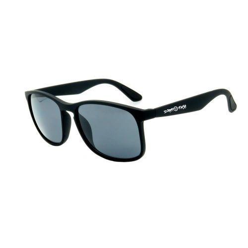 Óculos de Sol Dark Face Preto Fosco com Lente Fumê  - 1017