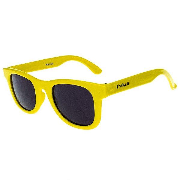 Óculos de Sol Infantil Eva Solo Quadrado Amarelo