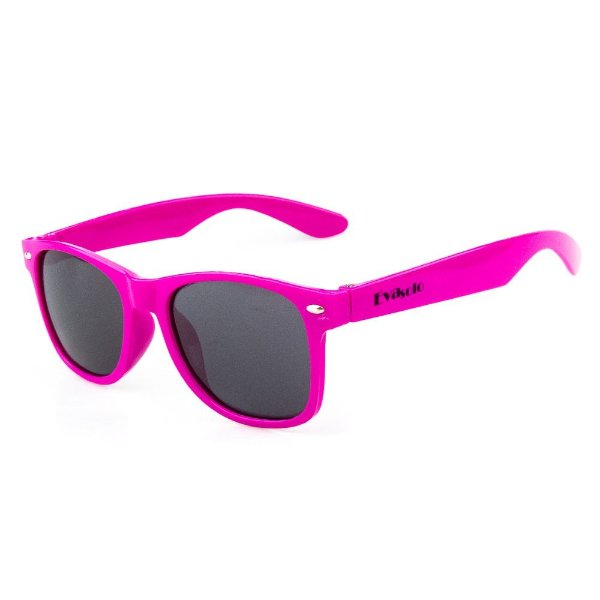 Óculos De Sol Infantil Eva Solo Quadrado Pink