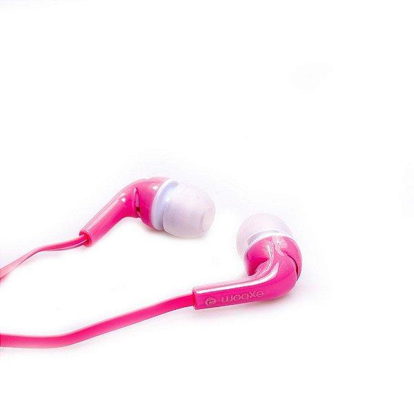 Fone de Ouvido Ouricular Prorider Acme Inc eF-600MV Rosa Claro e Branco - AI0024