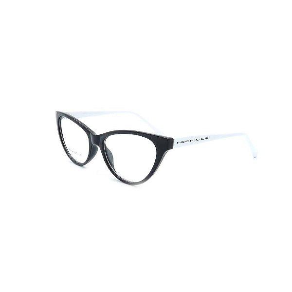 Óculos de Grau Prorider Preto e Branco - CR22C3