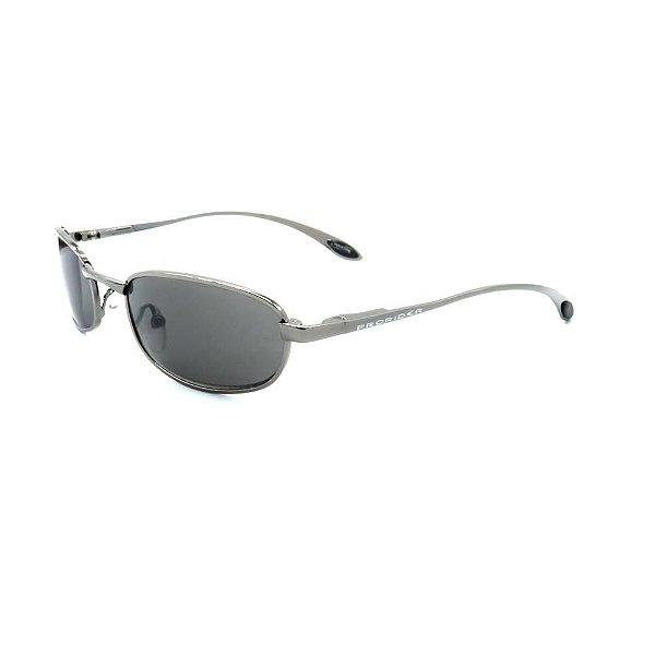 Óculos de Sol Retro Prorider Prata com Lente Fumê - A2770