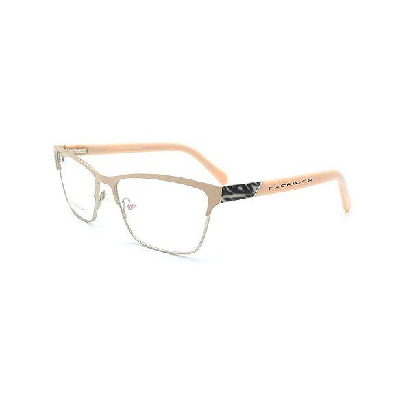 Óculos de Grau Prorider Rosa Claro com Dourado - DS14011C3